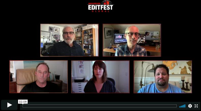 Netflix – ACE panel EditFest 2020