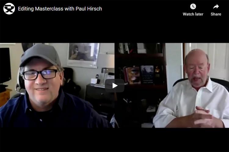Directors Guild of Canada – Paul Hirsch, ACE