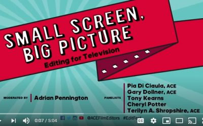 EditFest London 2019 – Small Screen to Big Picture