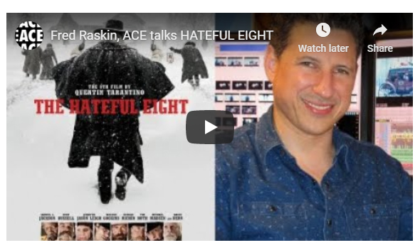 Editors On Editing – Hateful Eight