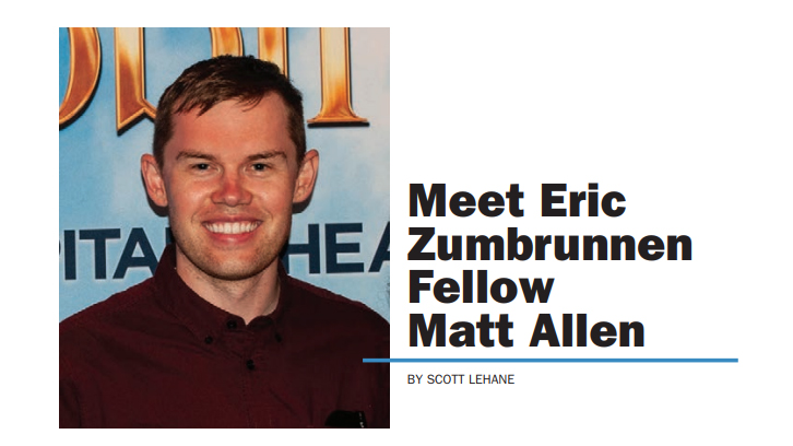 Meet Zumbrunnen Fellow – Matt Allen