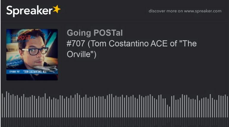 Going Postal- The Orville
