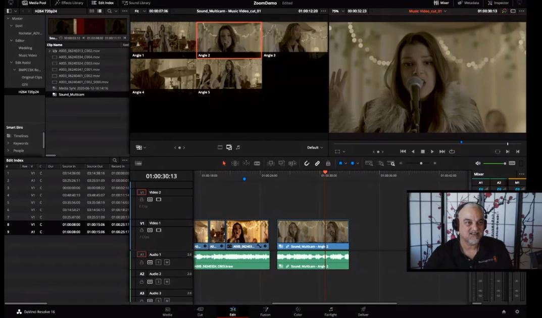 Blackmagic Design (Day 1&2) – Breakout