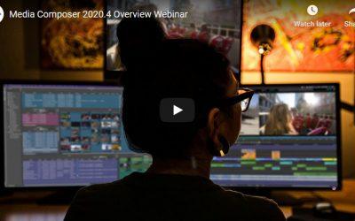 AVID – Media Composer Webinar