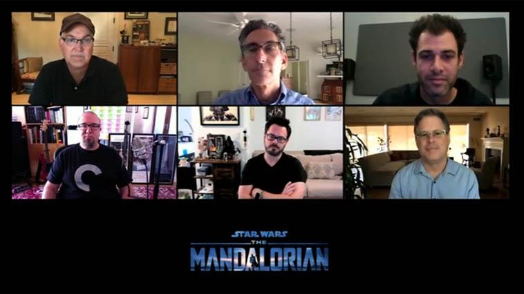 """Disney Panel 1 """"Mandalorian"""""""
