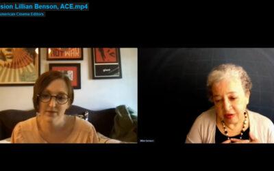 Lillian Benson, ACE – Breakout Session